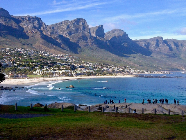 Twelve apostles view from Clifton