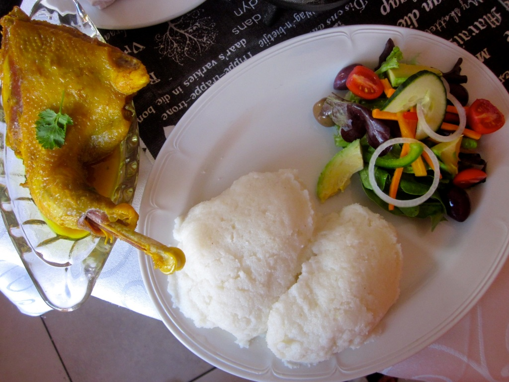 Pap is the most common staple eaten on a daily basis by most of South Africa's population