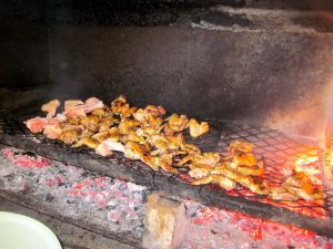 Mzoli's are famous for their braaied meat!
