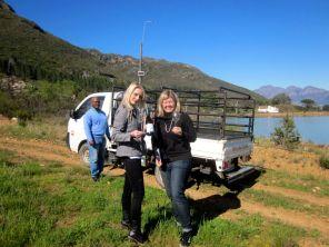avondale farm tour with Pam
