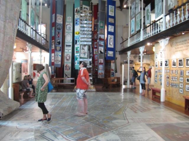 DSITRICT 6 MUSEUEM INSIDE