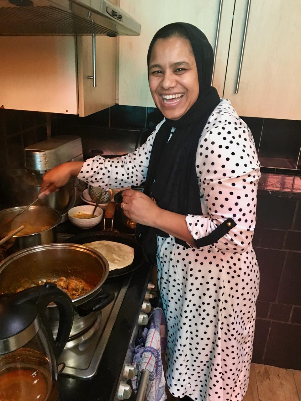 Gamidah Cooking